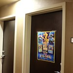 Pokemon poster on Room 401 room door is a sign of what you are in for