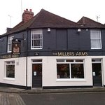 The Millers Arms - new look exterior.