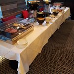 Cold breakfast buffet selection