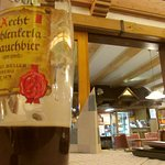 Bamberger Rauchbier findet man hier im Upland.