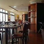 Le restaurant a un cadre un peu vieillot à mon goût...