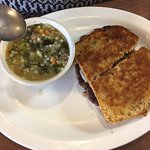 patty melt and wedding soup