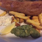 Second meal: fish and chips