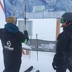Best ski instructors!! Dorian and Manuela wonderful, wonderful people and amazing fun!!😁⛷❤️
