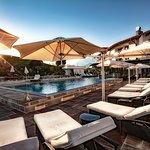 25 Meter outdoor-pool und Sonnendeck
