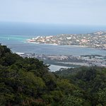Great views of Montego Bay from the deck