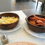Rouille de seiches (et riz au beurre).