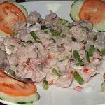 plat de poisson cru