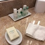 Paraben-free amenities