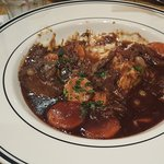 It make not look that pretty, but this Beef Bourguignon was excellent.