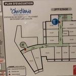 Plano del hotel