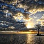 Sunset at Everglades