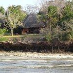 Banda at low tide