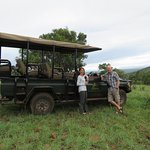 Sundowners on evening game drive