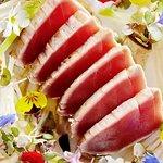 Sliced Tuna sushimi