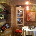 salle de restaurant... décor chaleureuse et originale