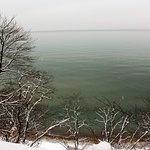 View of Lake Michigan from Bluff