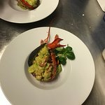 Lobster and avocado
