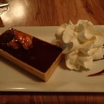 chocolate slated caramel tart