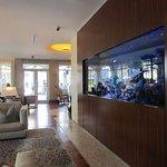Seagate lobby with aquarium