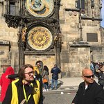 Town astro clock & tour guide