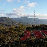 Vista desde la Finca La Hammonia hacia Matagalpa.