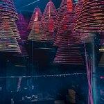 Incense coils in Tin Hau Temple