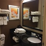 Rooms are reasonable size. What I'm more impressed is with the service. Mobile Check'd-in with e