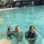 This is the best pool in Darwin, the kids got in at 5am they were so excited.