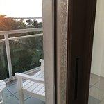 Door leading to balcony