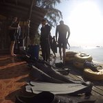 Ample equipments are provided and good facilities for freediving school.