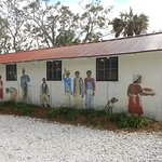 Mural on the picking & cooling house