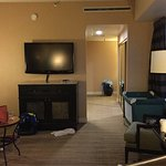 The Corner King Room is supposed to be 463 sq ft, but it is like a regular 350 sq ft room plus 1
