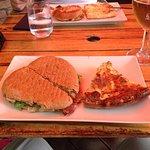 burger et feuilleté
