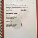 The Worlds End Cafe menu- delicious, safe, and vast menu for gluten free, vegan, vegetarian, or