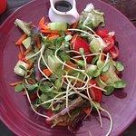 Gluten free veg salad