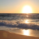 Sonnenuntergang Torre dei Corsari Beach