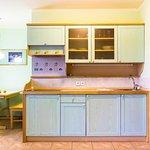 Kitchen in apartments