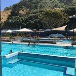 Hot salt pools and spa