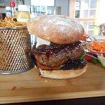 Mahoosive burger