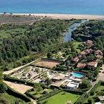 Vue Aérienne hôtel résidence Olmuccio