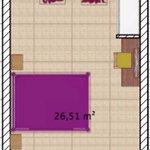 Plan type d'une chambre d'hôtel