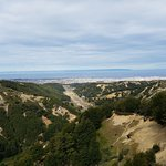The lower trail, has spectacular views of the valley and river below.
