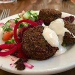 Kosher Middle Eastern Falafel Plate