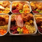 Sunday roast available for takeaway...