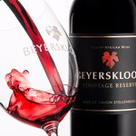 The Pinotage Reserve shows lovely dark berries & notable french oak aromas that lead onto the pa