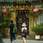 The oldest temple in Tai O: Kwan Tai Temple