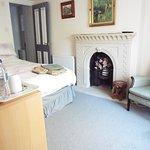 Double room with en-suite bathroom. Price £70 per night including breakfast. Room has one window