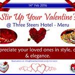 Valentine @ threesteershotel