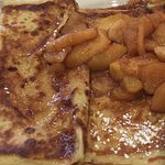 Cinnamon Apple Crepes